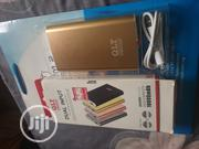 10000mah QLT Power Bank Gold Color | Accessories for Mobile Phones & Tablets for sale in Akwa Ibom State, Uyo