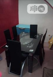High Quality Glass Dining Table With 6 Chairs   Furniture for sale in Lagos State, Ibeju