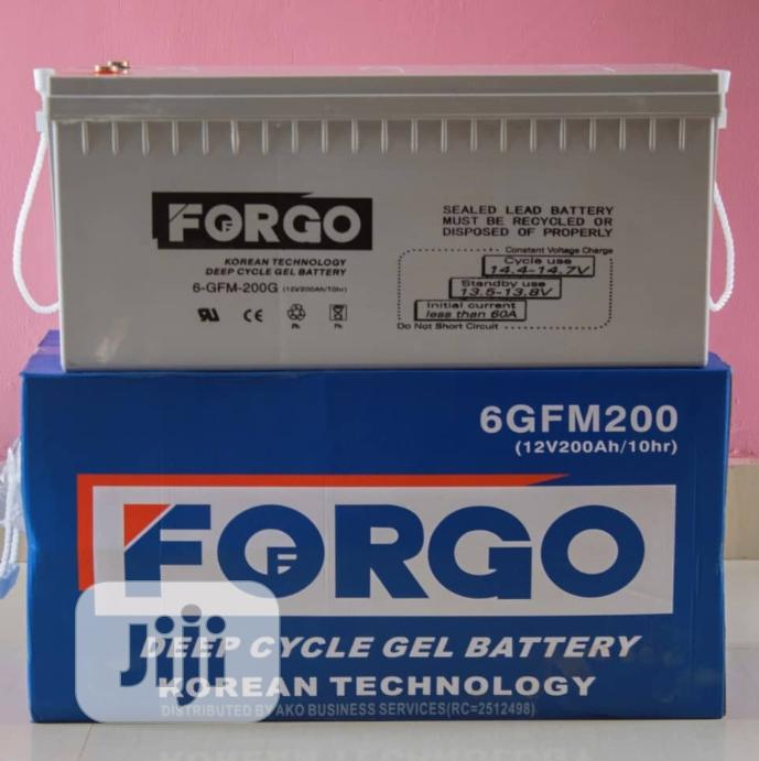 12v 200ah Fogor Battery Available