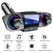 Hands-free Car Kit Bluetooth MP3 Player And FM Transmitter BT06 | Vehicle Parts & Accessories for sale in Lagos State, Ikeja