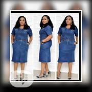 Quality Turkey Jean Gown,42-48 | Clothing for sale in Lagos State, Isolo