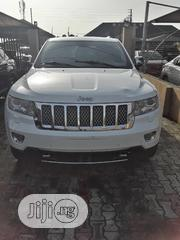 Jeep Grand Cherokee 2013 Overland Summit 4X4 White   Cars for sale in Lagos State, Ajah