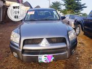 Mitsubishi Raider LS Double Cab 4WD V6 2007 Gray | Cars for sale in Lagos State, Egbe Idimu