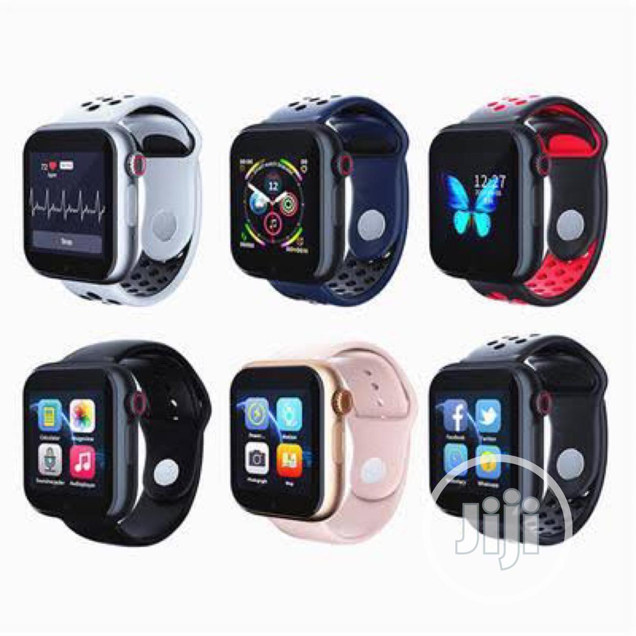 Z6s Smart Watch Heartbeat Monitor | Smart Watches & Trackers for sale in Ifako-Ijaiye, Lagos State, Nigeria