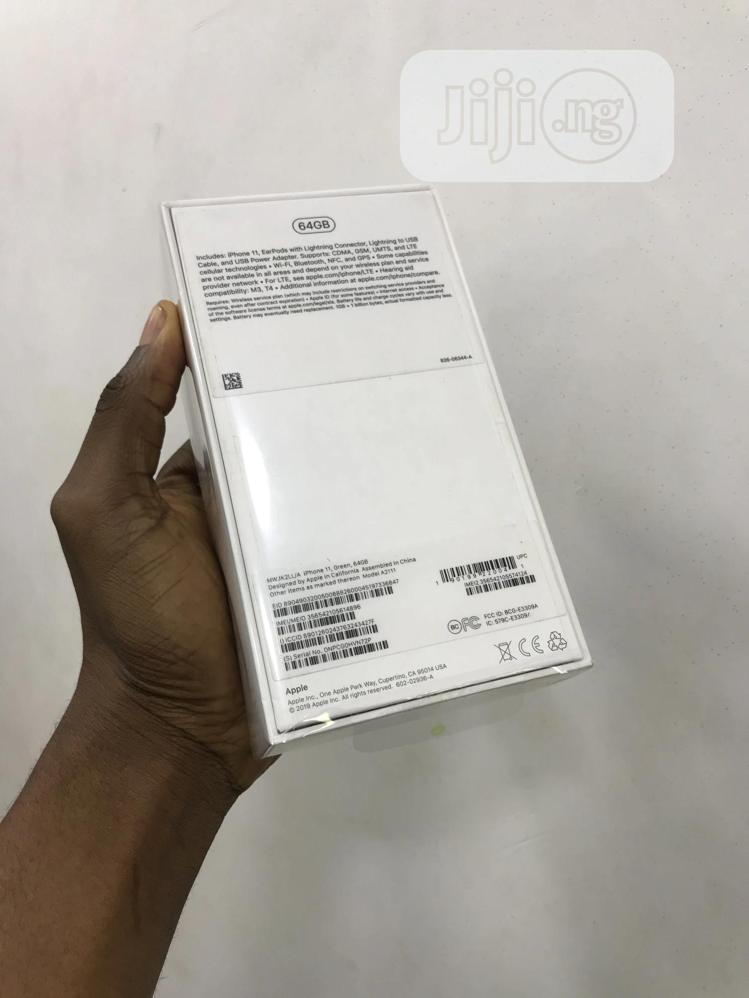 New Apple iPhone 11 64 GB Green | Mobile Phones for sale in Ikeja, Lagos State, Nigeria