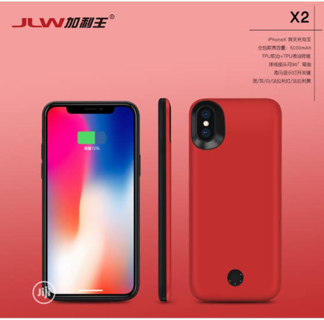 Jlw iPhone X Xmas Wireless Charging Case | Accessories for Mobile Phones & Tablets for sale in Ikeja, Lagos State, Nigeria