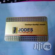 Metal Business Card Perforated | Stationery for sale in Lagos State