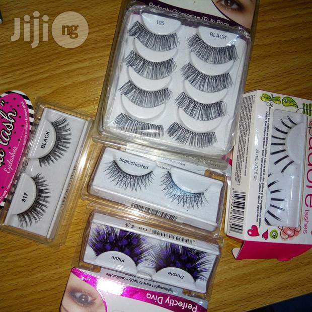 Dramatic And Adreal Lashes