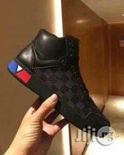 Louis Vuitton Supersonic Hi Top Black Sneakers   Shoes for sale in Lagos State, Ojo