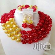 Red Coral Beads Necklace Earrings Bracelet Jewelry Set | Jewelry for sale in Plateau State, Jos