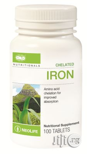GNLD Chelated Iron Complex | Vitamins & Supplements for sale in Lagos State, Surulere