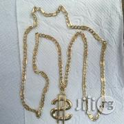 Pure ITALY 750 Tested 18krt Gold Levis Design Wit Dolla Pendant | Jewelry for sale in Lagos State, Lagos Island