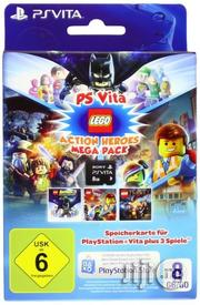 Brand New Ps-Vita Lego Action Heroes- 8GB | Video Games for sale in Lagos State