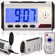Digital Table Clock With Hidden Camera | Security & Surveillance for sale in Lagos State, Ikeja