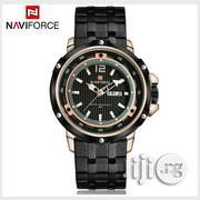 Naviforce Black Chain Watch | Watches for sale in Lagos State, Lagos Island
