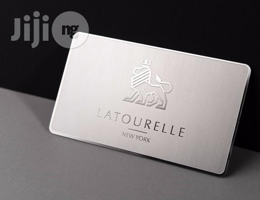 Exquisite Metal Business Card
