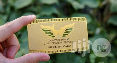 Premium Gold Significant Metal Business Card