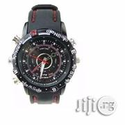 HD Silicone Waterproof Pinhole Camera Wrist Watch - 8GB   Watches for sale in Lagos State, Ikeja