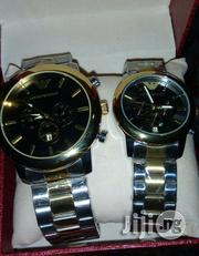 Quality Emporio Armani Chronograph Watch- Couple | Watches for sale in Lagos State